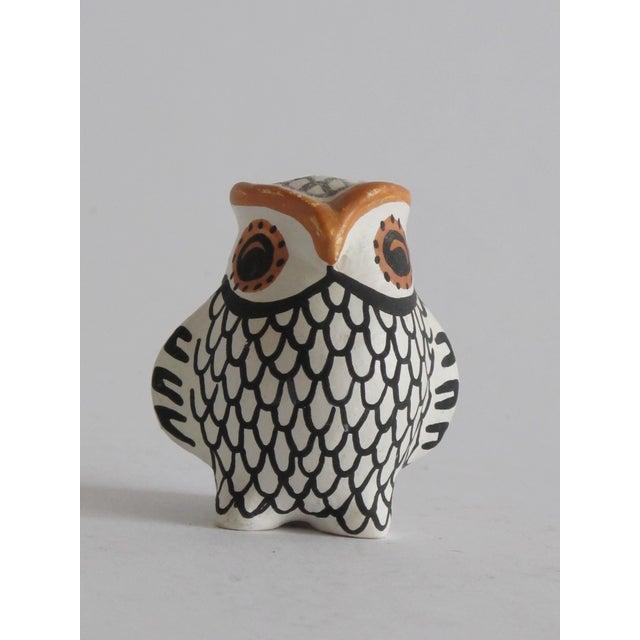 Acoma Ceramic Owl - Image 2 of 4
