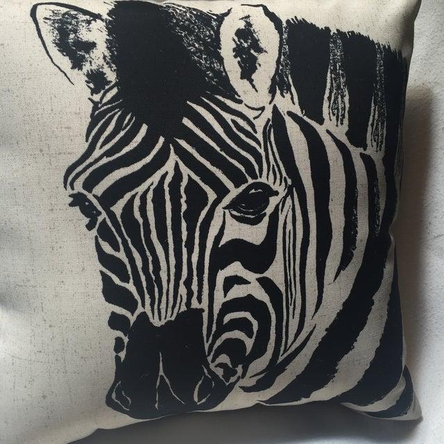 Zebra Print Pillow - Image 5 of 7