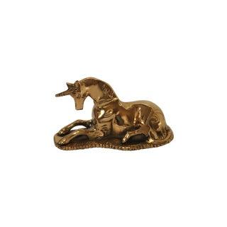 Brass Unicorn