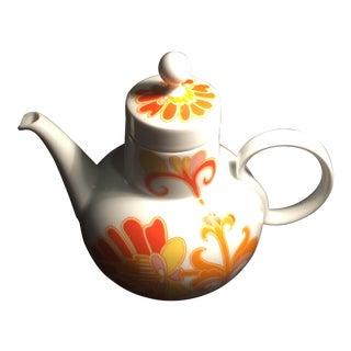 Heinrich H&Co Selb Bavaria Porcelain Teapot