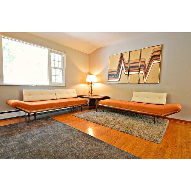 Mid-Century Three-Piece Sectional Sofa - Image 6 of 10