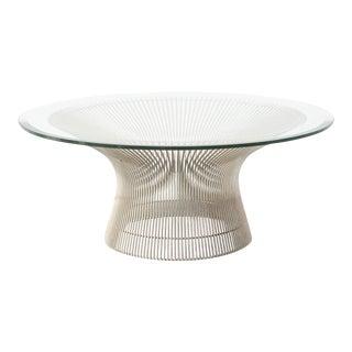 Nickel Platner Coffee Table