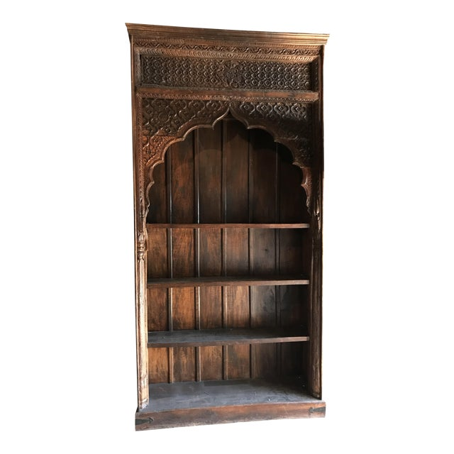 Large Indian Carved Palace Shelves - Image 1 of 5