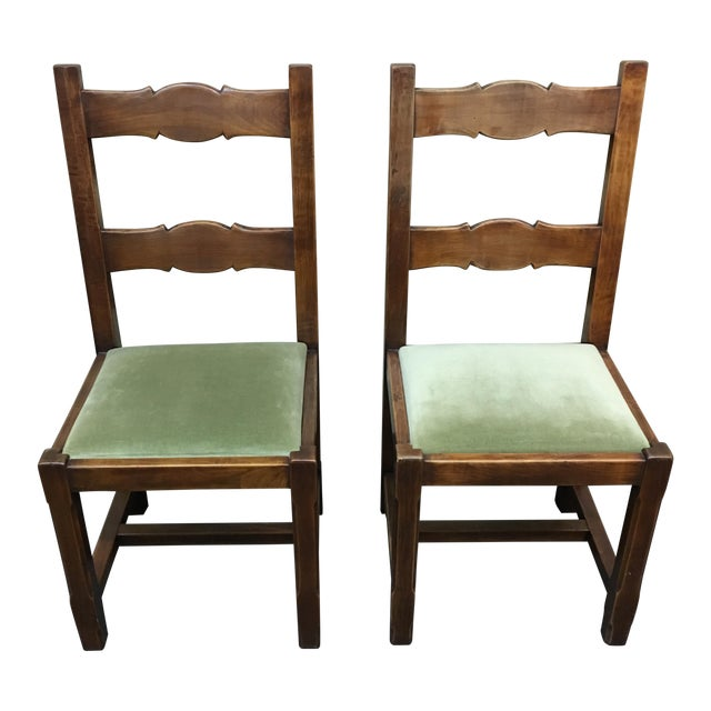 Custom Crafted French Dining Chairs - Set of 8 - Image 1 of 10