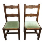 Image of Custom Crafted French Dining Chairs - Set of 8
