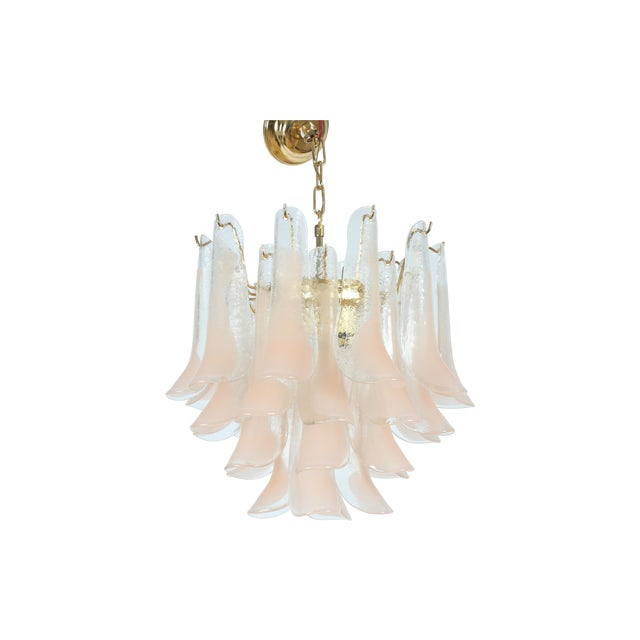 Italian Murano Glass Chandelier - Image 1 of 6
