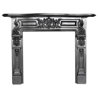 Victorian Cast Iron Firplace Surround and Mantel