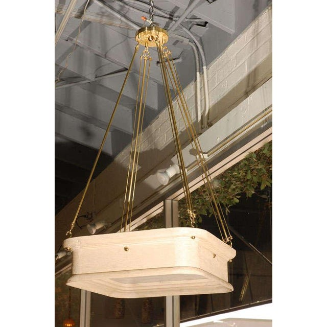 Paul Marra Boch Chandelier in Distressed Natural - Image 2 of 9