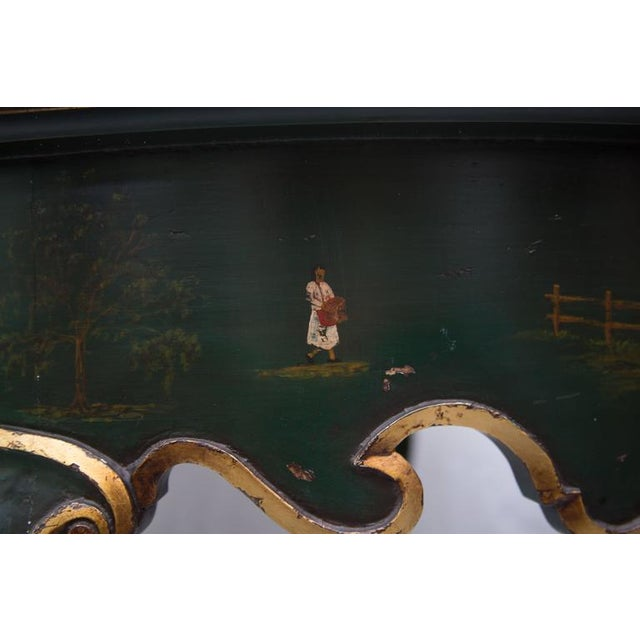 19th Century Northern Italian Painted Center Table - Image 11 of 11