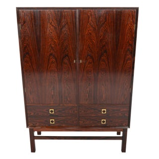 Tall Rosewood Credenza by Brouer Møbelfabrik