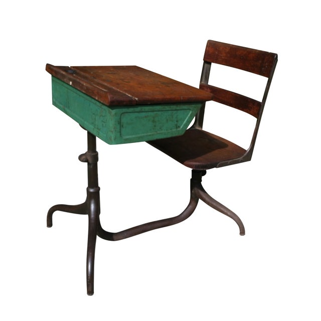 Vintage Industrial Space Age Coffee Table For Sale At Pamono: Vintage Industrial School Desk