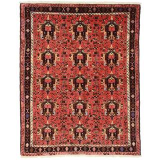 RugsinDallas Vintage Persian Karajeh Rug - 5′3″ × 6′7″