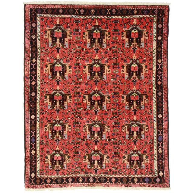 RugsinDallas Vintage Persian Karajeh Rug - 5′3″ × 6′7″ - Image 1 of 2