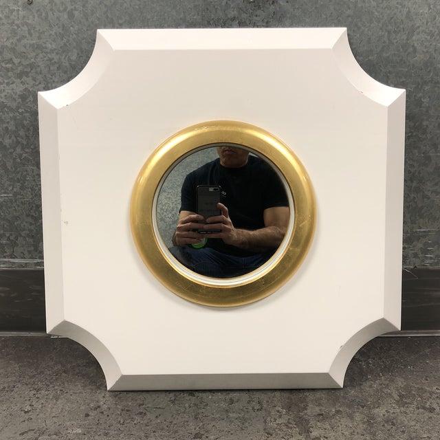 Palecek Andaz White Mirror - Image 7 of 7