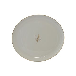 Syracuse China Oval Serving Platter by Dorian