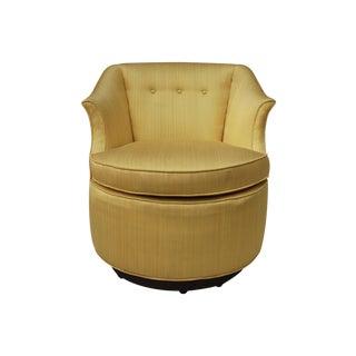 Vintage Edward Wormley for Dunbar Swivel Chair