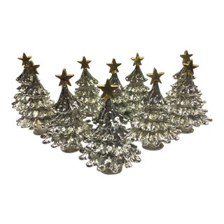Christmas Tree Place Card Holders - Set of 10