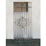 Image of Antique Victorian Iron Gate or Garden Fence