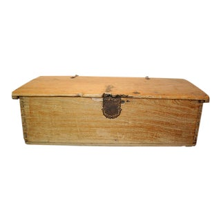 19th Century Mexican Sabino Trunk