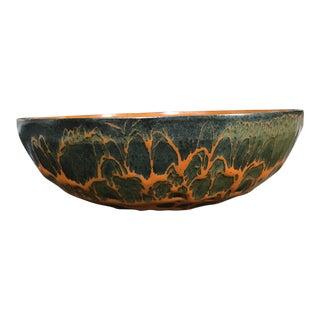 Vintage Mid-Century Metal Enamel Bowl