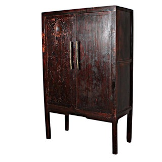Sarreid Ltd. Antique Ming Dynasty Armoire
