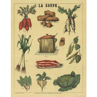 French 'La Soupe' Poster