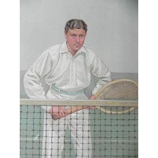 1904 Vanity Fair Tennis Print