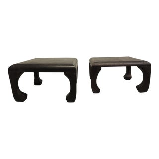 Chinese Decorative Wood Stands - A Pair