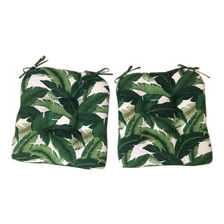 Set/4 Swaying Palms Chair Cushions
