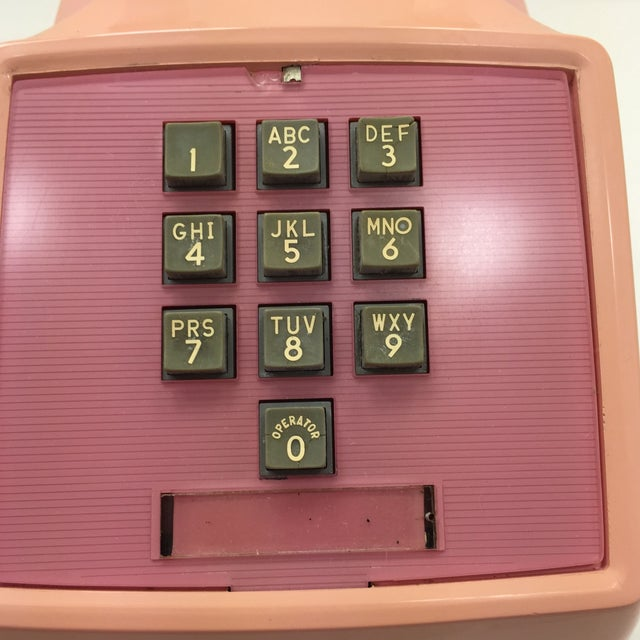 Western Electric 1960s Pink 1500 Telephone - Image 7 of 8