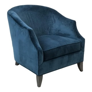 Sam Moore Velveteen Club Chair