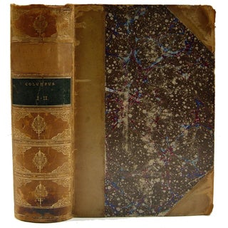 Life & Voyages of Columbus Book, 1881