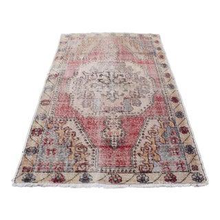 Traditional Turkish Bohemian Decorative Rug - 4′4″ × 7′3″