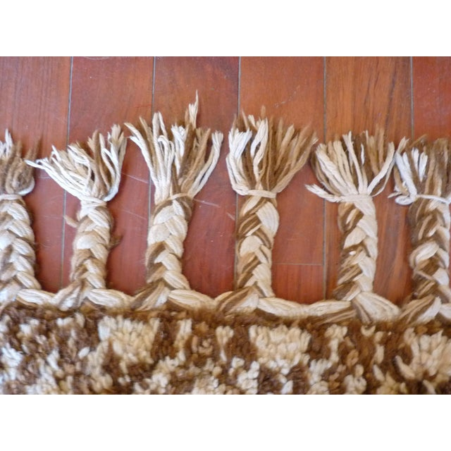 Vintage Handmade Moroccan Rug - Image 5 of 9