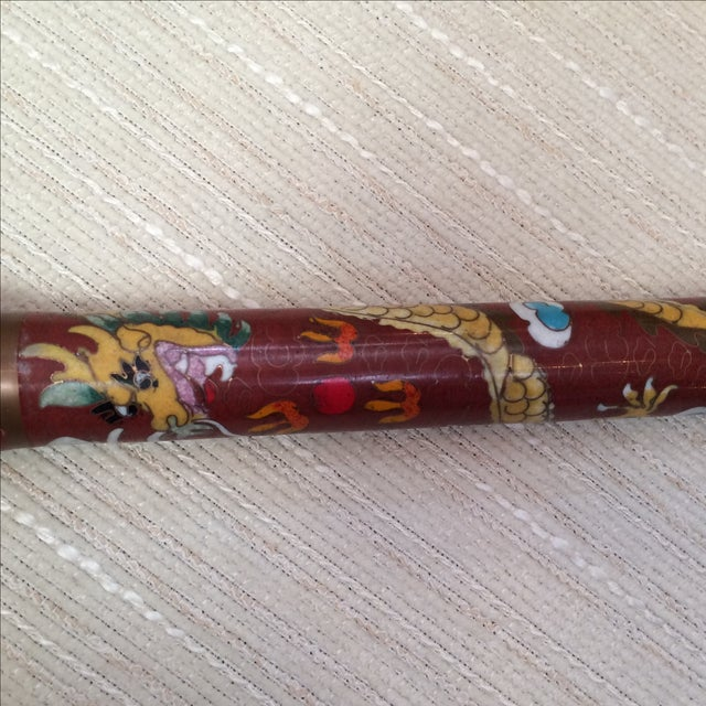 Image of Chinese Brush Cloisonné