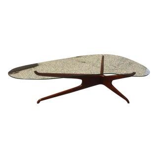 Vladimir Kagan Mid-Century Tri-Symmetric Coffee Table