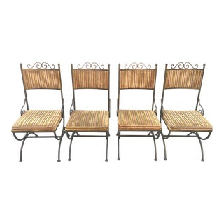 Hollywood Regency Style Chairs - Set of 4