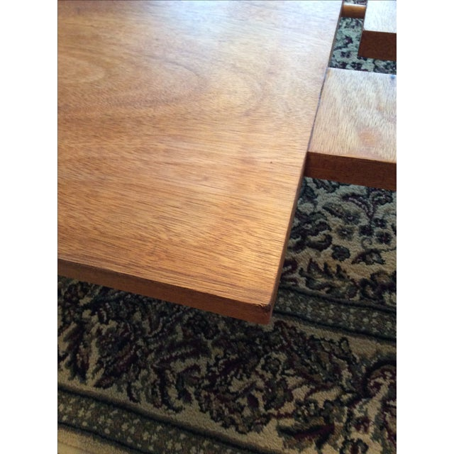 Vintage Danish Modern Low Coffee Table - Image 5 of 11