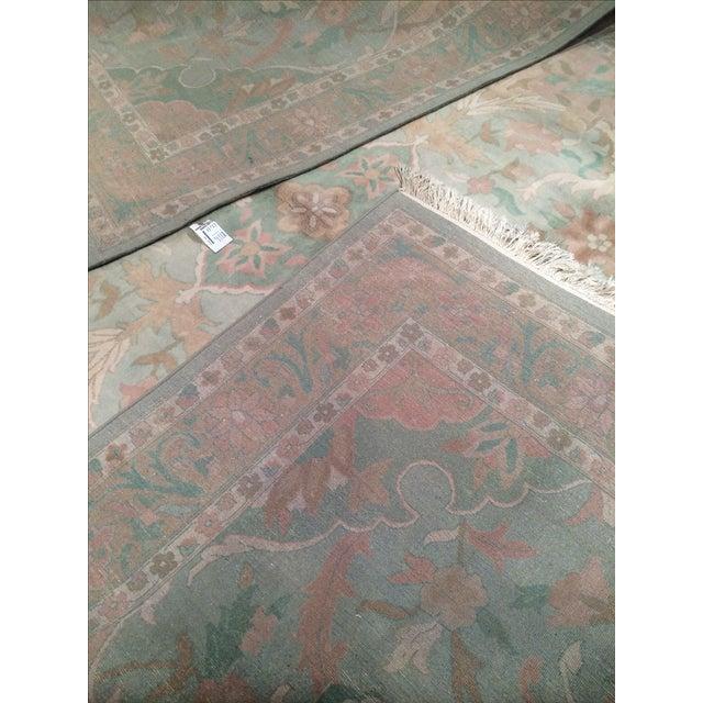 """Pasargad N Y Pastel Colors Tabriz Rug - 8'10"""" X 12' - Image 6 of 6"""