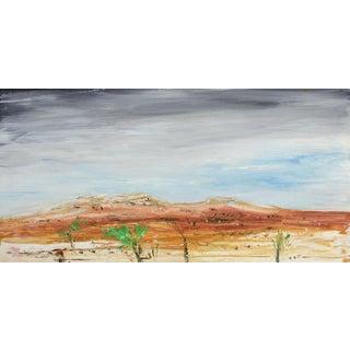 Desert Landscape Oil Painting by G. Turner