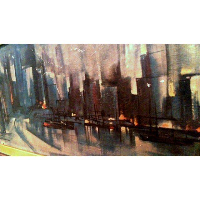 Ozz Franca Mid-Century Cityscape Lithograph - Image 5 of 10