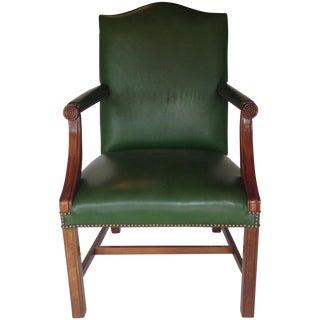 Green Vinyl Chair