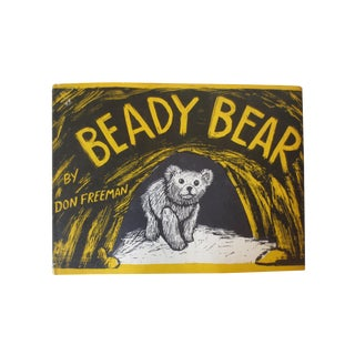Vintage 1954 Beady Bear, 1st Edition Book