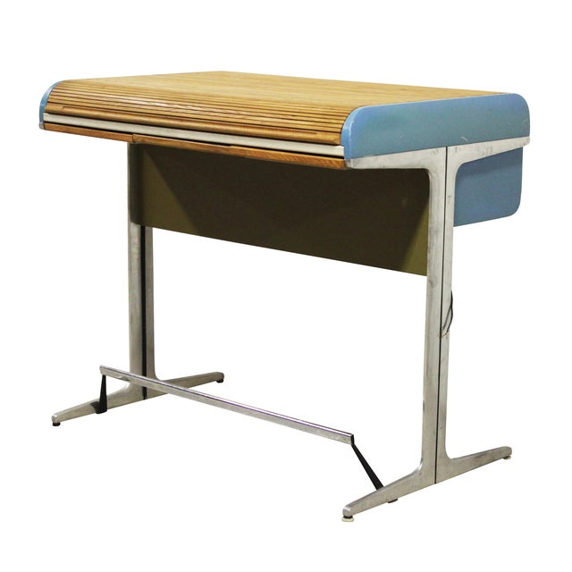 George Nelson Action Office Tambour High Desk - Image 1 of 10