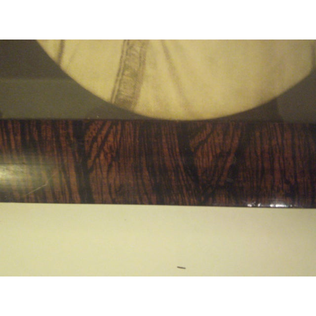 Image of 1910 Antique Rosewood Frame with Print