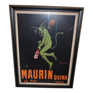 Vintage Maurin Liquor Poster