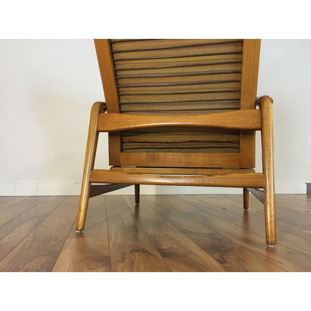Mid-Century Adjustable High Back Lounge Chair - Image 8 of 11
