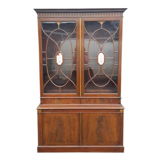 Two Drawer China Cabinet