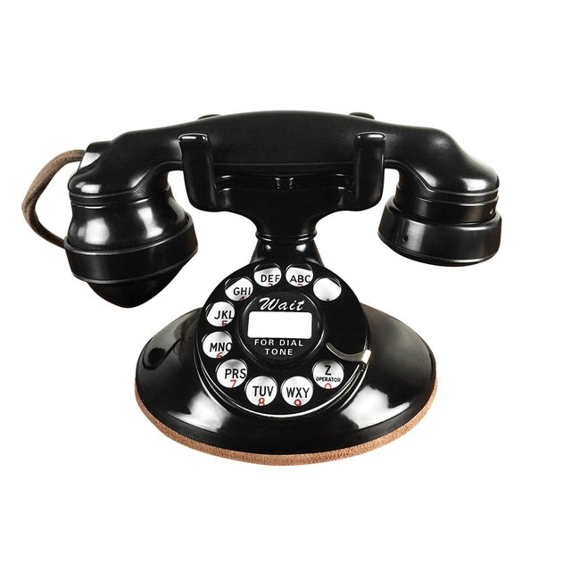 1930s Refurbished Deco Working Telephone - Image 1 of 4