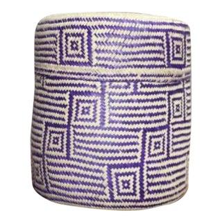 Hand-Woven Oaxacan Basket III